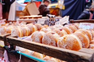 There's sugar everywhere, it's hard to avoid, especially when you're faced with temptation such as these donuts!