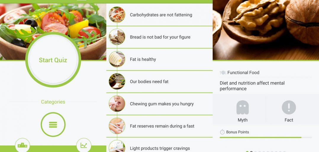 App Review: Nutrition Quiz