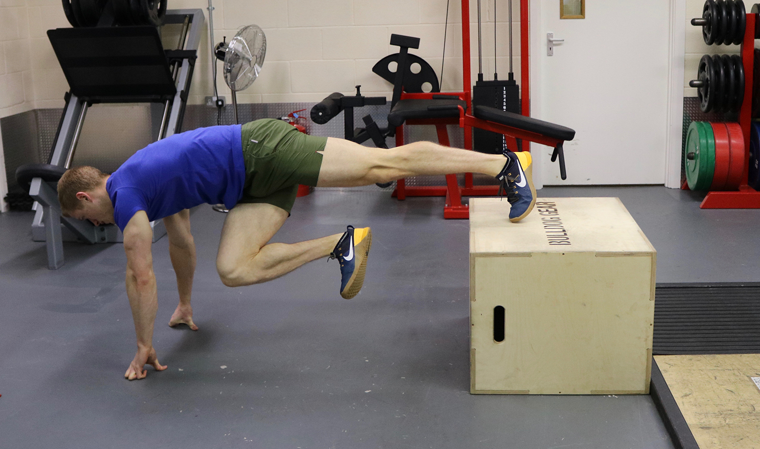 Training: Advanced Plyometric Box Exercises