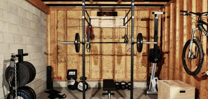 Turn your garage into a home gym with the bulldog gear open gym