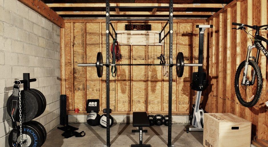 Turn your garage into a home gym with the bulldog gear open gym concept