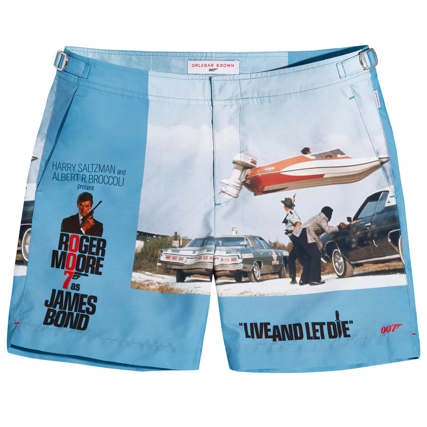 80ecb641becee Orlebar Brown release four James Bond exclusive swim shorts